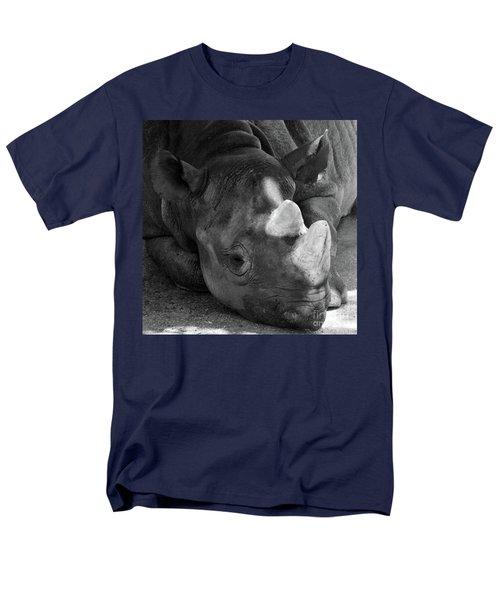 Rhino Nap Men's T-Shirt  (Regular Fit) by Alycia Christine