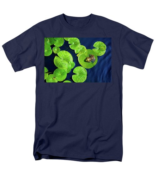 Men's T-Shirt  (Regular Fit) featuring the photograph Ribbit by Greg Fortier