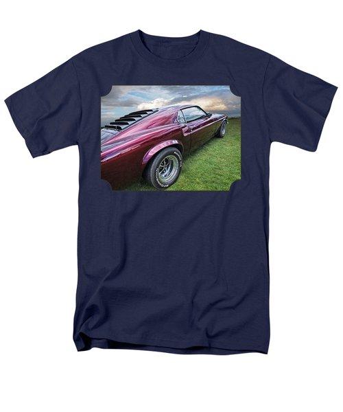 Rich Cherry - '69 Mustang Men's T-Shirt  (Regular Fit) by Gill Billington