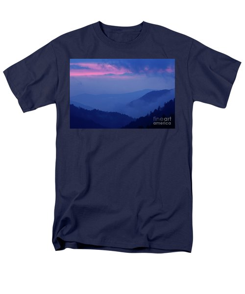 Men's T-Shirt  (Regular Fit) featuring the photograph Ridges - D000023 by Daniel Dempster