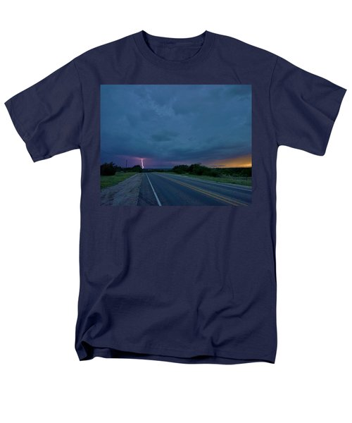 Road To The Storm Men's T-Shirt  (Regular Fit) by Ed Sweeney