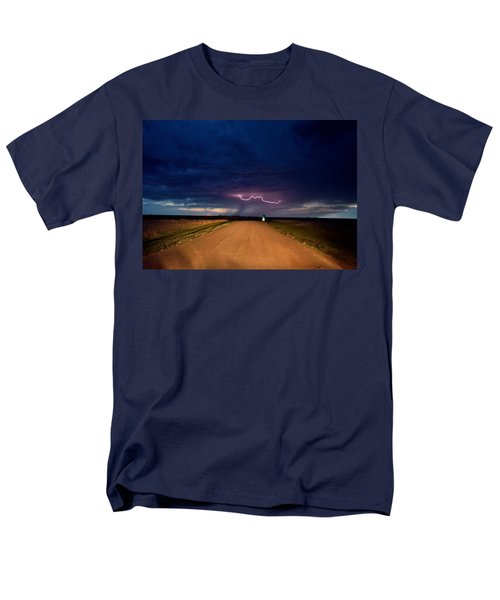 Road Under The Storm Men's T-Shirt  (Regular Fit) by Ed Sweeney