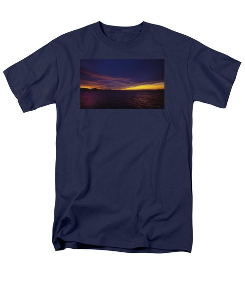 Men's T-Shirt  (Regular Fit) featuring the photograph Roatan Sunset by Stephen Anderson