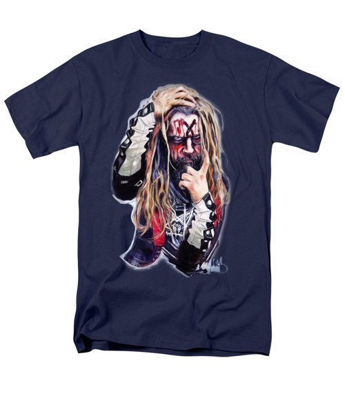 Rob Zombie Men's T-Shirt  (Regular Fit) by Melanie D