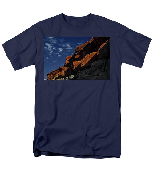 Sky And Rocks Men's T-Shirt  (Regular Fit) by Alex Galkin