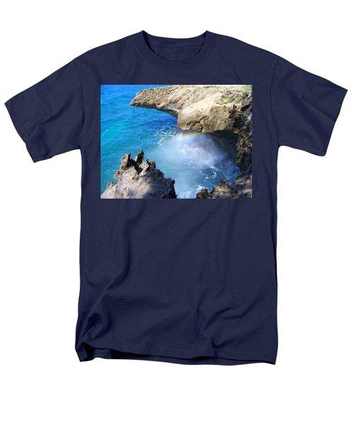Rocks And Rainbow Men's T-Shirt  (Regular Fit) by Susan Lafleur