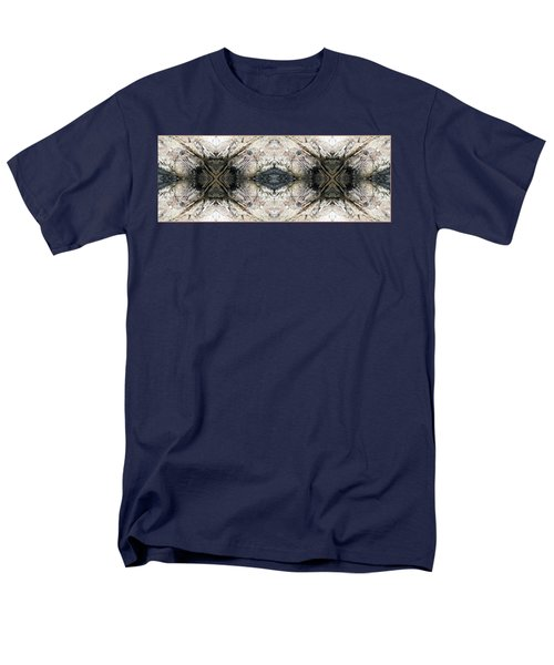 Rocky Coast Abstract Men's T-Shirt  (Regular Fit) by Joy Nichols