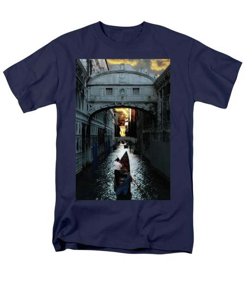 Romantic Venice Men's T-Shirt  (Regular Fit) by Harry Spitz