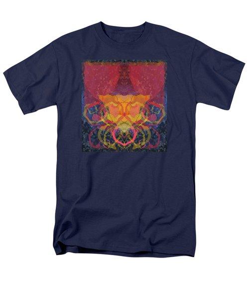 Rorschach1 Men's T-Shirt  (Regular Fit) by David Klaboe