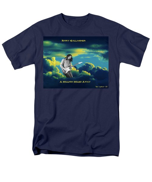Men's T-Shirt  (Regular Fit) featuring the photograph Rory Million Miles Away by Ben Upham