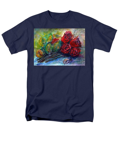 Roses Men's T-Shirt  (Regular Fit) by Jasna Dragun