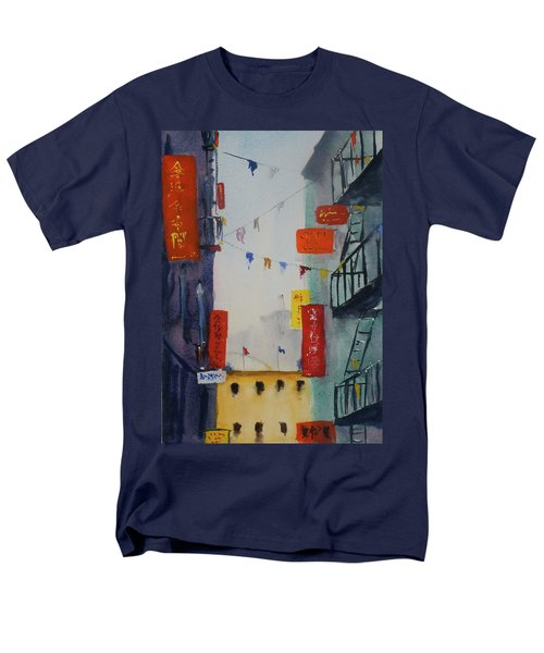 Ross Alley1 Men's T-Shirt  (Regular Fit) by Tom Simmons