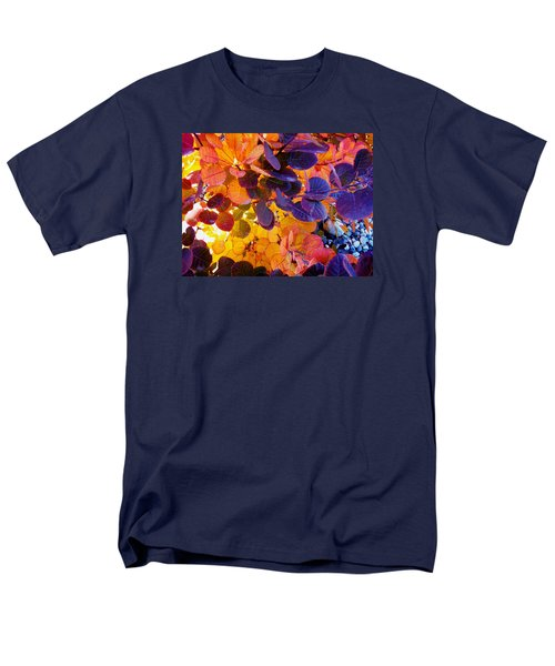 Royal Purple Smoke Bush Men's T-Shirt  (Regular Fit)