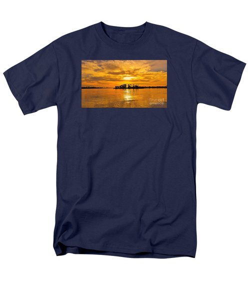 San Diego Golden Sky By Jasna Gopic Men's T-Shirt  (Regular Fit) by Jasna Gopic