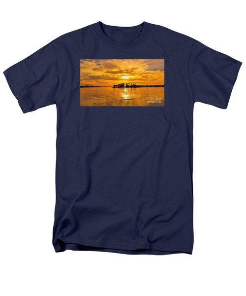San Diego Golden Sky By Jasna Gopic Men's T-Shirt  (Regular Fit)