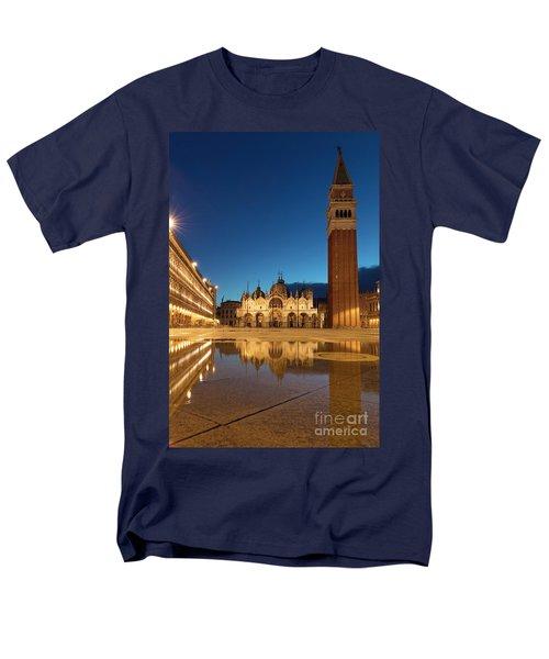 Men's T-Shirt  (Regular Fit) featuring the photograph San Marco Twilight by Brian Jannsen