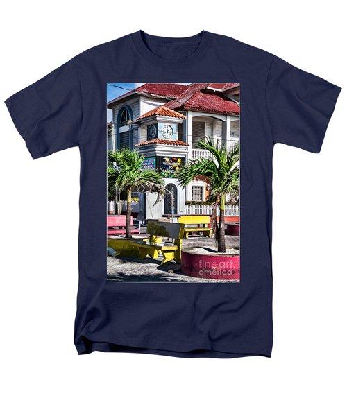 San Pedro Town Plaza Men's T-Shirt  (Regular Fit)
