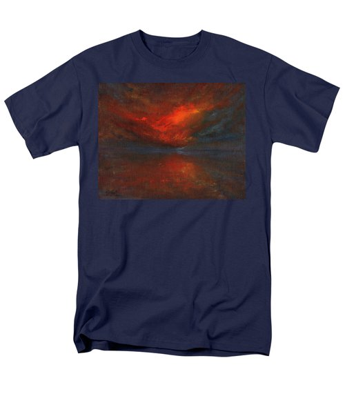 Sapphire Sunset Men's T-Shirt  (Regular Fit) by Jane See