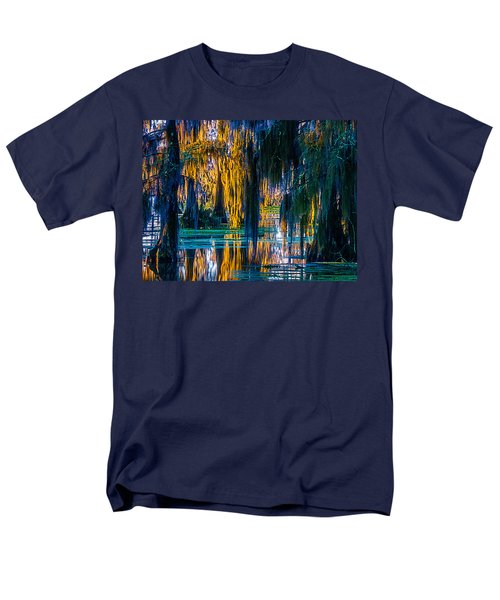 Scary Swamp In The Daytime Men's T-Shirt  (Regular Fit) by Kimo Fernandez