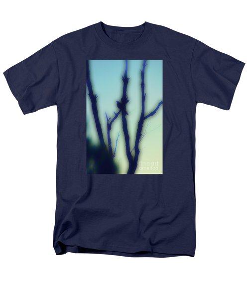 Men's T-Shirt  (Regular Fit) featuring the photograph Scrub Silhouette by Cassandra Buckley
