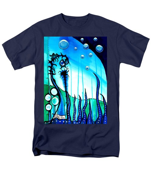 Seaweed - Art By Dora Hathazi Mendes Men's T-Shirt  (Regular Fit)