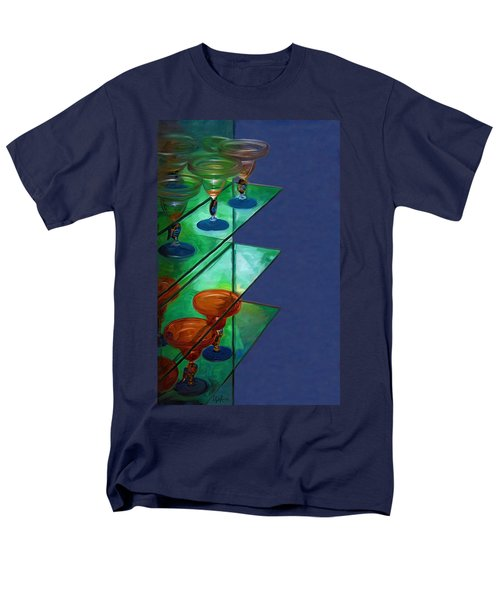 Men's T-Shirt  (Regular Fit) featuring the digital art Sheilas Margaritas by Holly Ethan