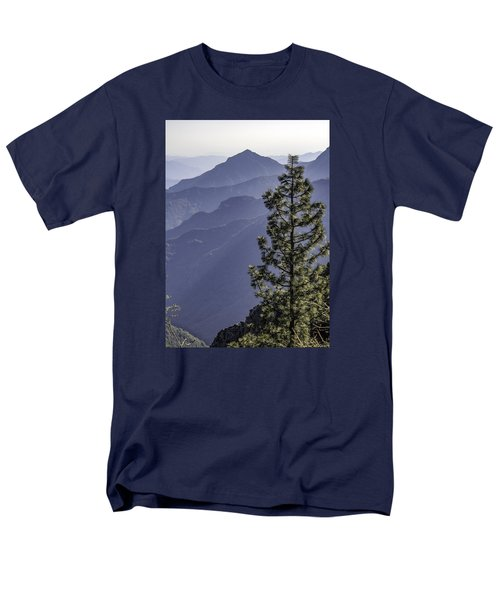 Men's T-Shirt  (Regular Fit) featuring the photograph Sierra Nevada Foothills by Steven Sparks