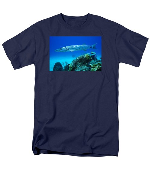 Men's T-Shirt  (Regular Fit) featuring the photograph Silver Stalker by Aaron Whittemore