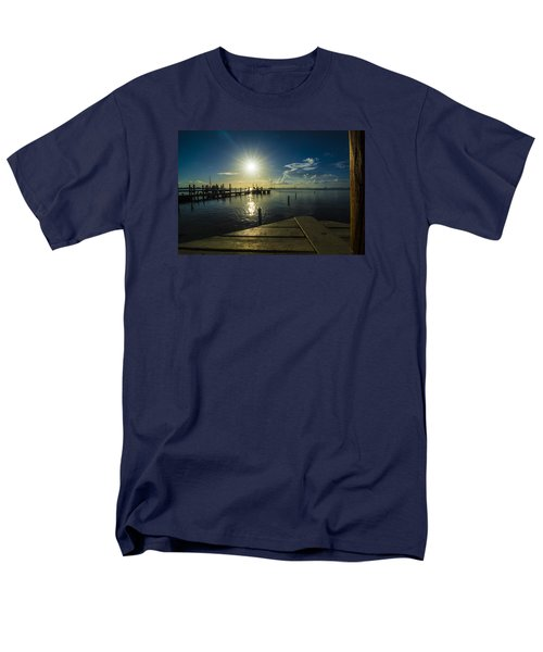 Sitting On The Dock Of The Bay Men's T-Shirt  (Regular Fit) by Kevin Cable