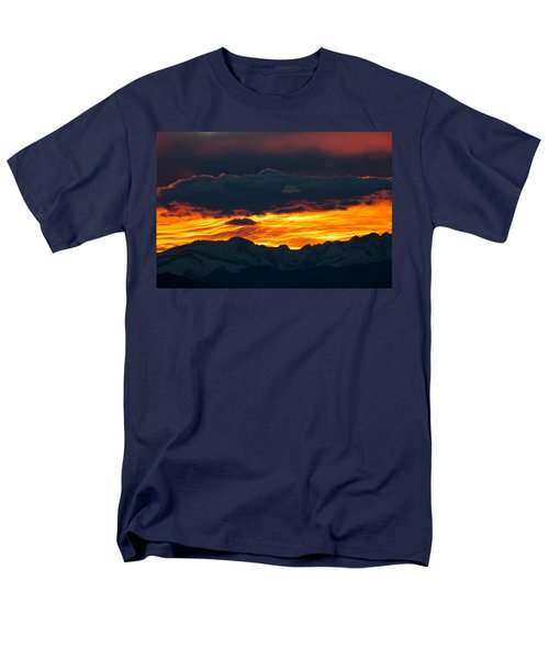 Men's T-Shirt  (Regular Fit) featuring the photograph Sky Lava by Colleen Coccia