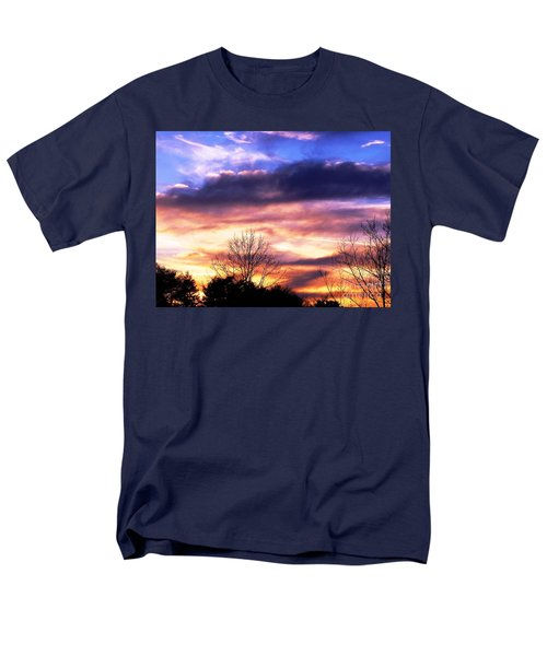 Men's T-Shirt  (Regular Fit) featuring the photograph Sky Study 8 3/11/16 by Melissa Stoudt