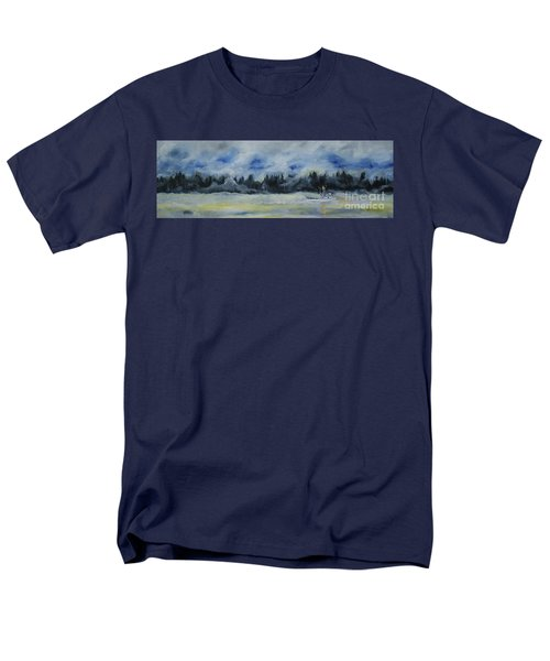 Slow Sail Home Men's T-Shirt  (Regular Fit) by Cynthia Lagoudakis