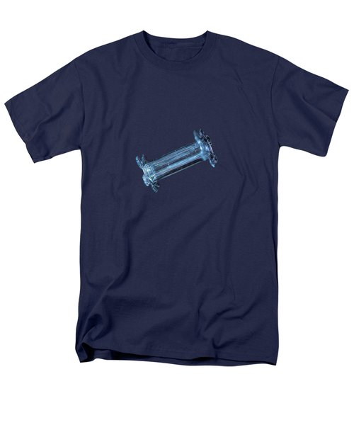 Snowflake Photo - Capped Column Men's T-Shirt  (Regular Fit)