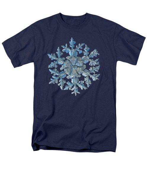 Snowflake Photo - Gardener's Dream Men's T-Shirt  (Regular Fit)