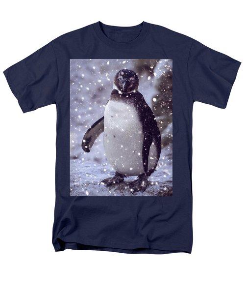 Men's T-Shirt  (Regular Fit) featuring the photograph Snowpenguin by Chris Boulton