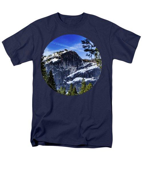 Snowy Sentinel Men's T-Shirt  (Regular Fit) by Adam Morsa