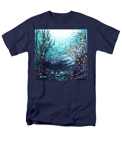 Soldier Fish And Coral  Men's T-Shirt  (Regular Fit)