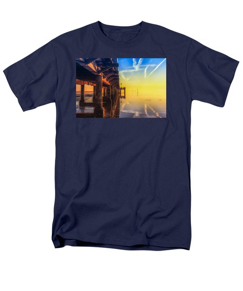 Somewhere Else Men's T-Shirt  (Regular Fit) by Thierry Bouriat