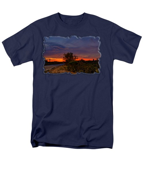 Sonoran Sunset H48 Men's T-Shirt  (Regular Fit) by Mark Myhaver