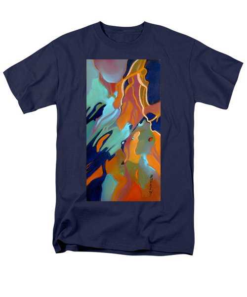 Men's T-Shirt  (Regular Fit) featuring the painting Source by Rae Andrews