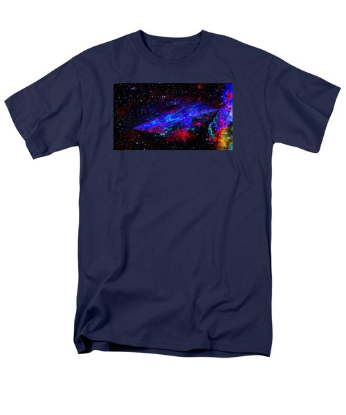Men's T-Shirt  (Regular Fit) featuring the painting Space-time Continuum by Mike Breau
