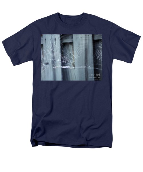 Men's T-Shirt  (Regular Fit) featuring the photograph Spider Web by Megan Dirsa-DuBois