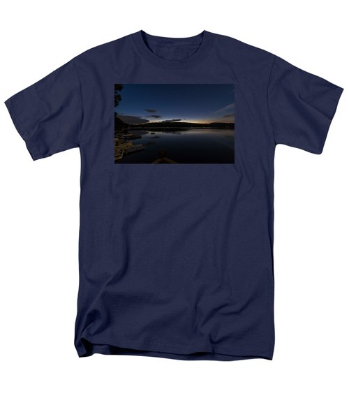 Men's T-Shirt  (Regular Fit) featuring the photograph Spofford Lake Dawn by Tom Singleton