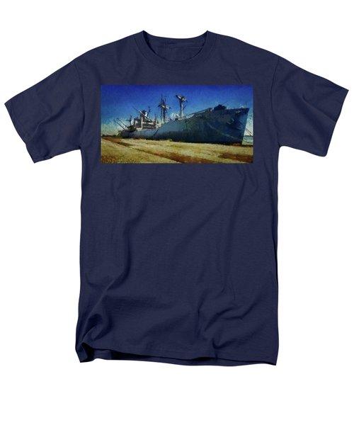 Ss Lane Victory Men's T-Shirt  (Regular Fit) by Joseph Hollingsworth