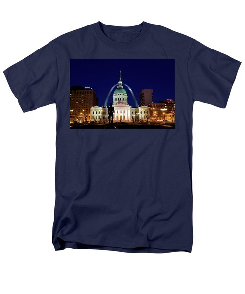 Men's T-Shirt  (Regular Fit) featuring the photograph St. Louis by Steve Stuller