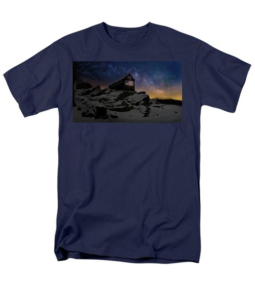 Men's T-Shirt  (Regular Fit) featuring the photograph Star Spangled Banner by Bill Wakeley