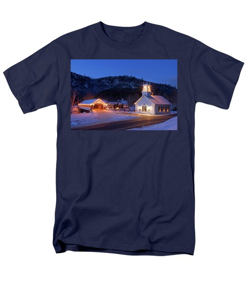 Men's T-Shirt  (Regular Fit) featuring the photograph Stark New Hampshire by Robert Clifford