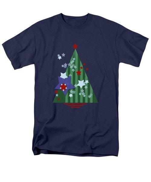 Stars And Stripes - Christmas Edition Men's T-Shirt  (Regular Fit) by AugenWerk Susann Serfezi