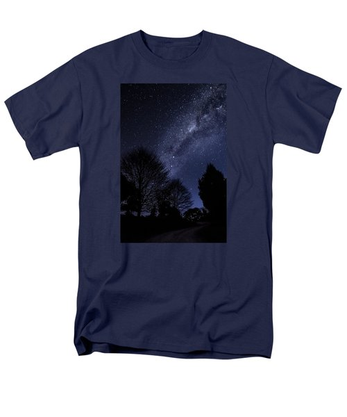 Stars And Trees Men's T-Shirt  (Regular Fit) by Martin Capek