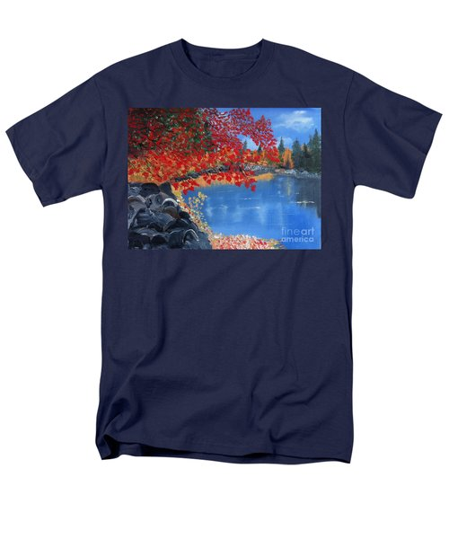 Start Of Fall Men's T-Shirt  (Regular Fit) by Rod Jellison